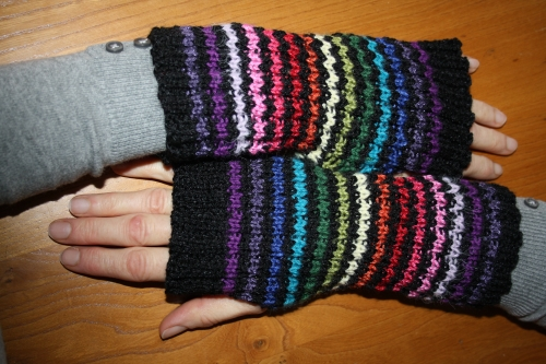 mitaines , tricot main ,accessoires