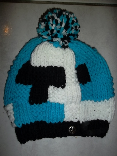 bonnet fun ski,bonnet junior,bonnet pompon